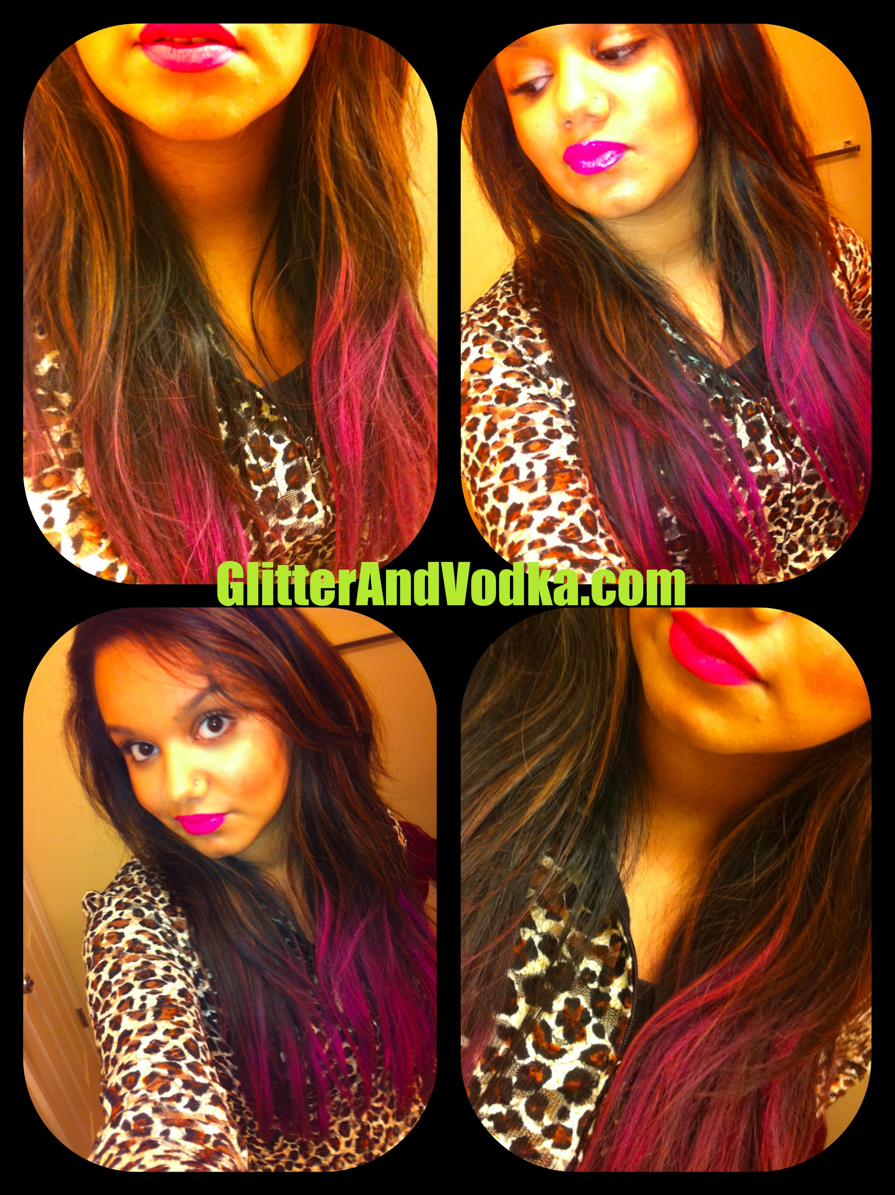 Dip Dye Hair Fashion Makeup Beauty Shoes All Things Superficial